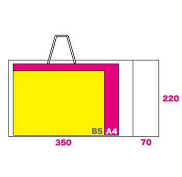 フルカラー紙袋(オンデマンド)