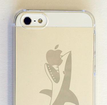 特殊ミラー印刷iPhoneケース